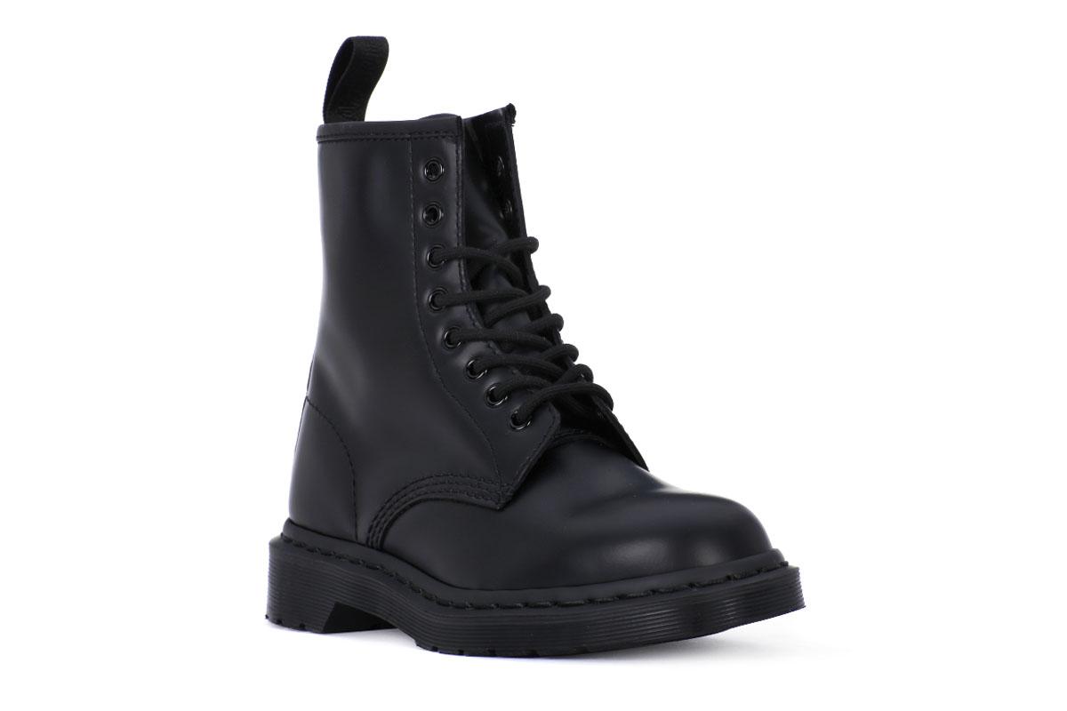 78520d3c7d DR MARTENS 1460 MONO BLACK SMOOTH