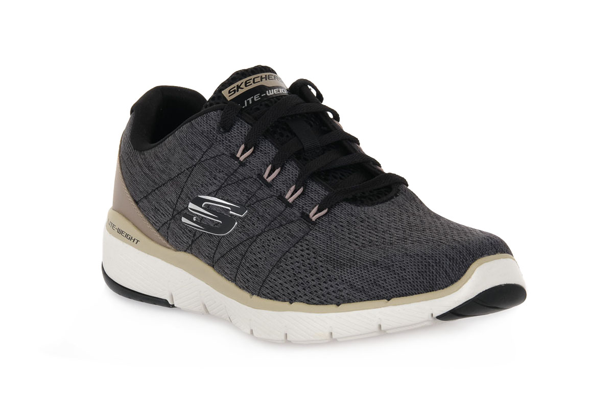 SKECHERS  BLK FLEX ADVANTAGE