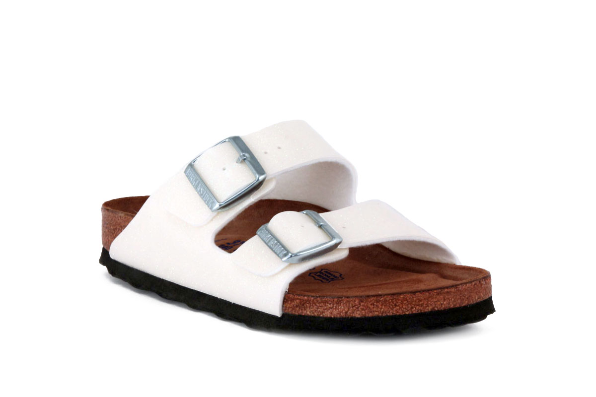 BIRKENSTOCK ARIZONA WHITE MAGIC 057663 CIABATTE Unisex