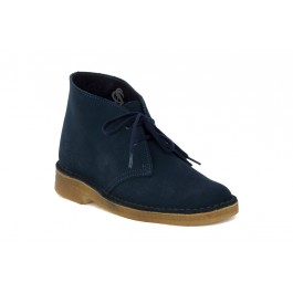 CLARKS DESERT BOOT W MIDNIGHT | Comunello