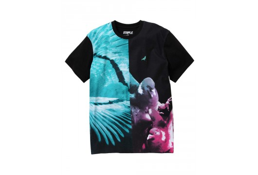 STAPLE SPLIT PHOTO TEE