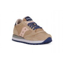 SAUCONY JAZZ TAN NAVY