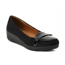 FIT FLOP POP LOAFER BLACK