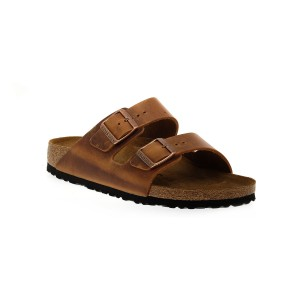 BIRKENSTOCK ARIZONA ANTIQUE BROWN OILED CALZ S