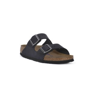 BIRKENSTOCK ARIZONA SFB BLACK OILED CALZ S