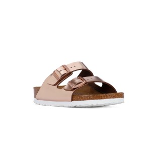 BIRKENSTOCK ARIZONA METALLIC COPPER CALZ S