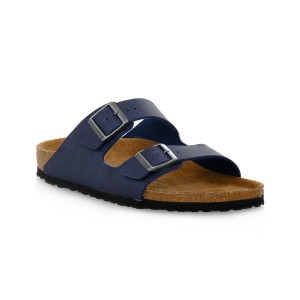 BIRKENSTOCK  ARIZONA SADDLE MATT NAVY STONE CALZ