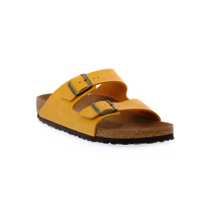 BIRKENSTOCK  ARIZONA SADDLE MATT OCHRE CAL S