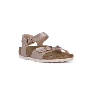 BIRKENSTOCK RIO METALLIC COPPER