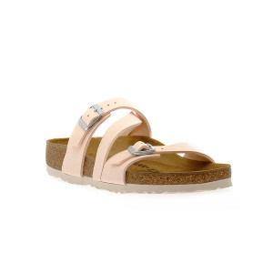 BIRKENSTOCK  SALINA LIGHT ROSE BLACK CALZ S