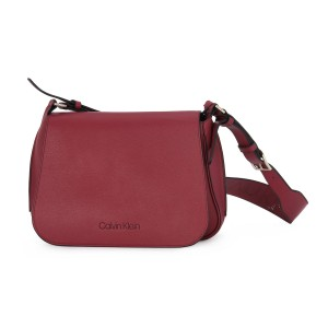 CALVIN KLEIN RED PUNCHED