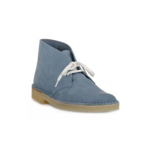 CLARKS DESERT BOOT NAVY GREY