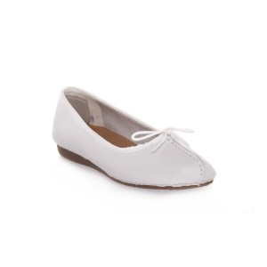 CLARKS FRECKLE ICE WHITE