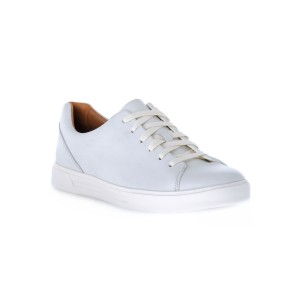CLARKS COSTA LACE WHITE
