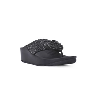 FIT FLOP TWISS CRYSTAL BLACK