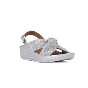 FIT FLOP TWISS CRYSTAL SILVER