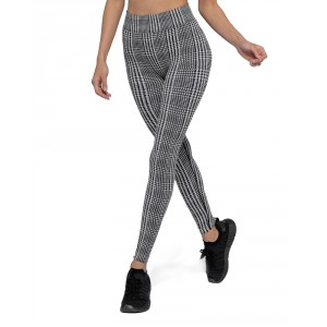 HEART & SOUL DAKOTA HOUNDSTOOTH LEGGINGS