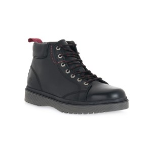 LUMBERJACK BLACK ANKLE BOOT