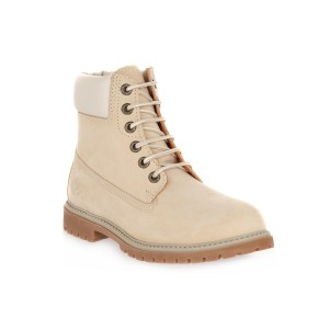 LUMBERJACK M0010 CREAM ANKLE BOOT