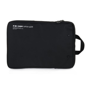 NAVA BLACK COMBO LAPTOP SLEEVE