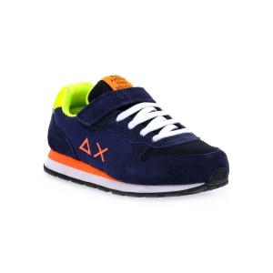 SUN68 07 TOM FLUO BLU NAVY