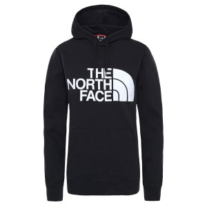 THE NORTH FACE  W STANDARD HOODIE BLK