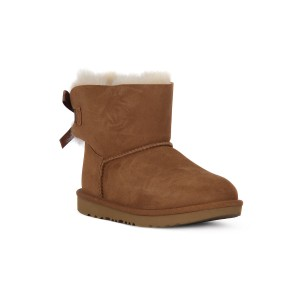 UGG MINI BAILEY BOW II CHESTNUT