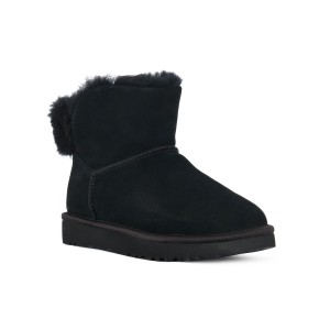UGG CLASSIC BLING MINI BLACK