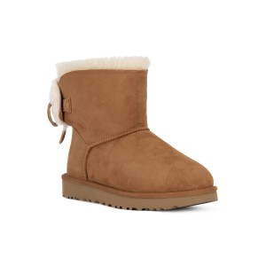 UGG CLASSIC DOUBLE BOW MINI CHESTNUT