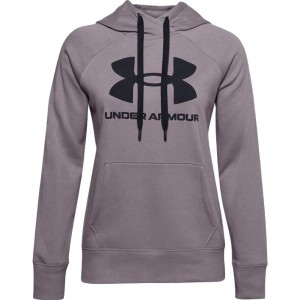 UNDER ARMOUR 585 RIVAL FLEECE LOGO HOODIE