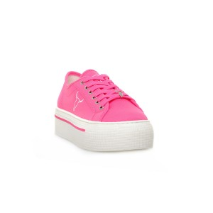 WINDSOR SMITH  RUBY CANVAS NEON PINK