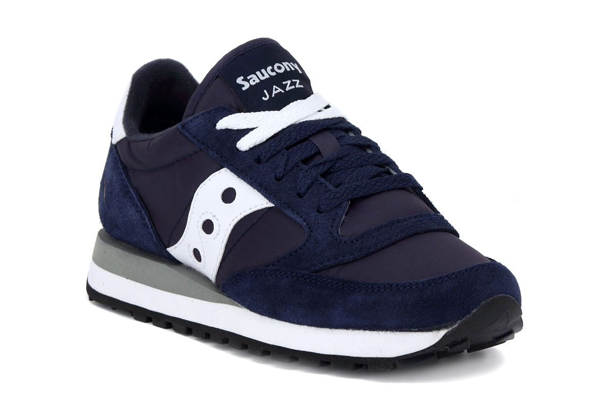 pretty nice 3d59a 5a3d0 SAUCONY JAZZ NAVY WHITE