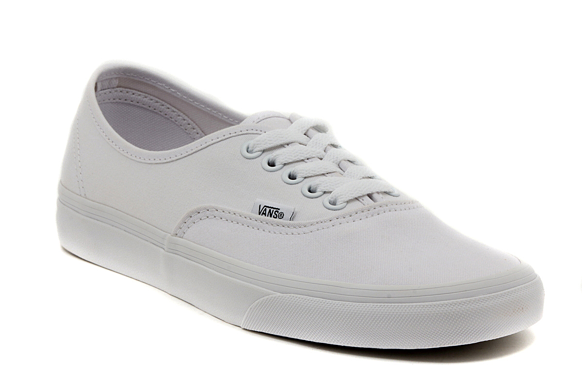 VANS AUTHENTIC TRUE WHITE VEE3W00 SNEAKERS MODA Unisex